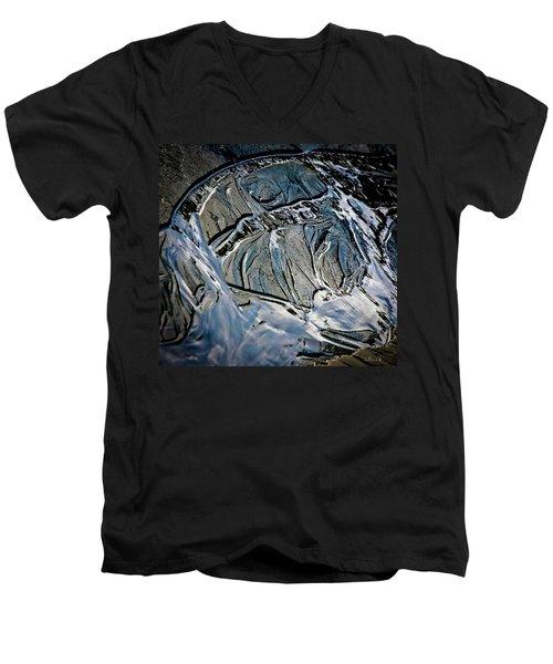 Sand Reflection Men's V-Neck T-Shirt