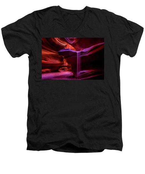 Sandfall Men's V-Neck T-Shirt
