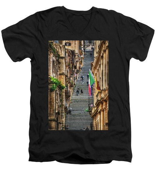Santa Maria Del Monte Men's V-Neck T-Shirt