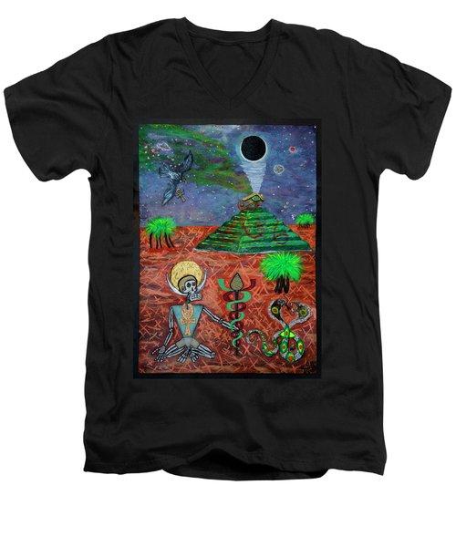 Saqqara Cooomplete Men's V-Neck T-Shirt