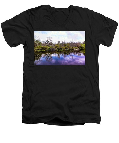 Men's V-Neck T-Shirt featuring the photograph Sarasota Symphony  by Madeline Ellis