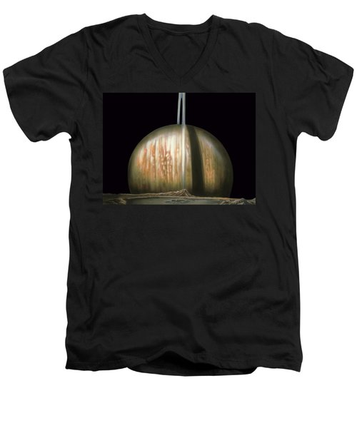 Saturn Rising Men's V-Neck T-Shirt