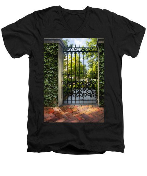 Savannah Gate II Men's V-Neck T-Shirt