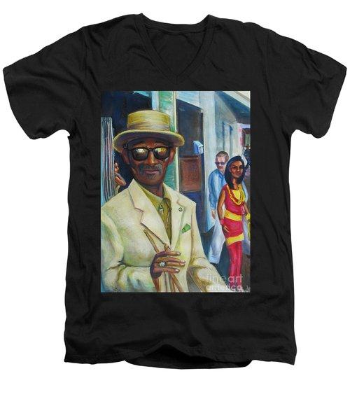 Say Uncle Men's V-Neck T-Shirt