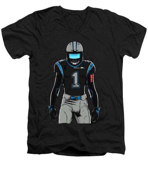 Sb L Carolina Men's V-Neck T-Shirt