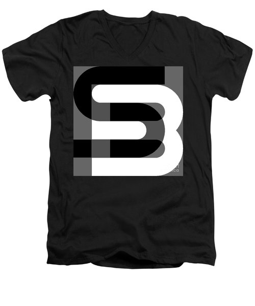 sb2 Men's V-Neck T-Shirt
