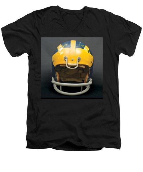 Scarred 1970s Wolverine Helmet Men's V-Neck T-Shirt