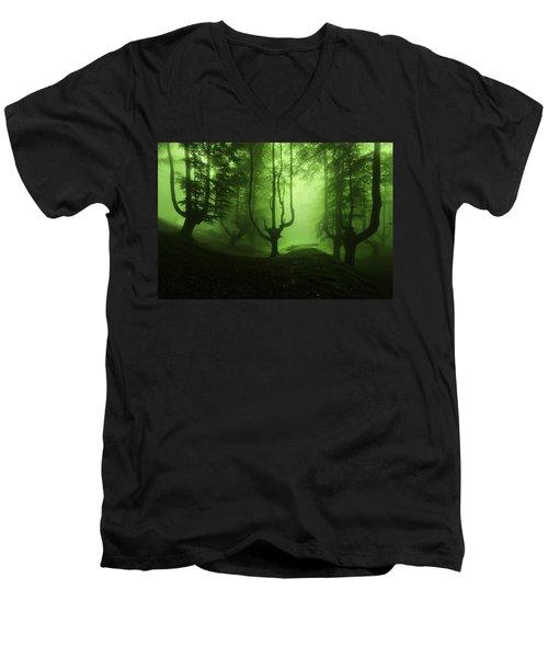 The Funeral Of Trees Men's V-Neck T-Shirt