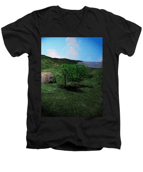 Scenery Men's V-Neck T-Shirt