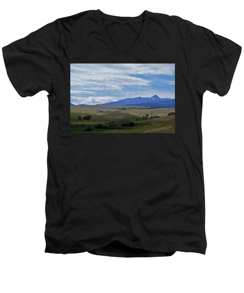 Scenery Men's V-Neck T-Shirt