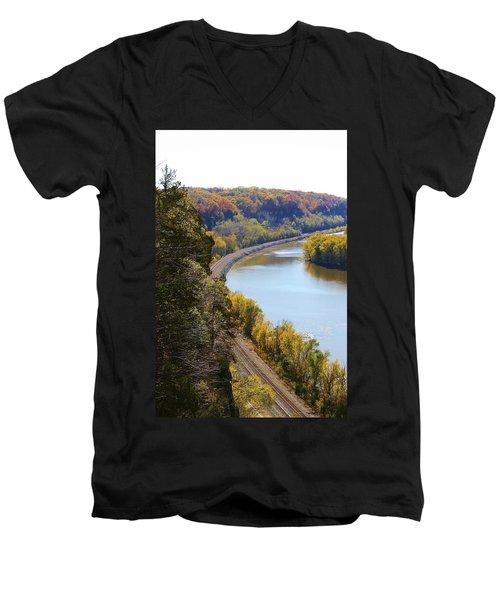 Scenic View Men's V-Neck T-Shirt