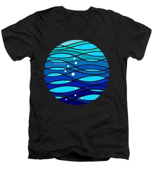 schOOlfish II Men's V-Neck T-Shirt