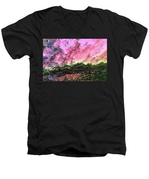 Sea Foam 4 Men's V-Neck T-Shirt