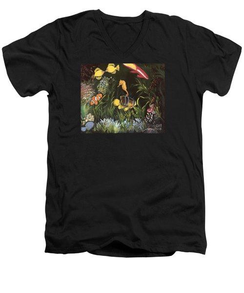 Sea Harmony Men's V-Neck T-Shirt