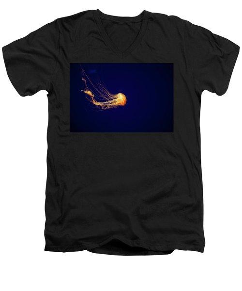 Sea Nettle Dance Men's V-Neck T-Shirt