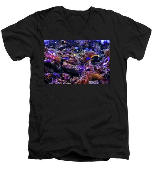 Sea Spaghetti  Men's V-Neck T-Shirt