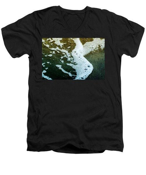 Seafoam Men's V-Neck T-Shirt