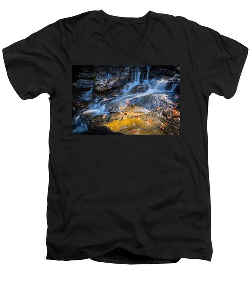 Seasons Collide Men's V-Neck T-Shirt