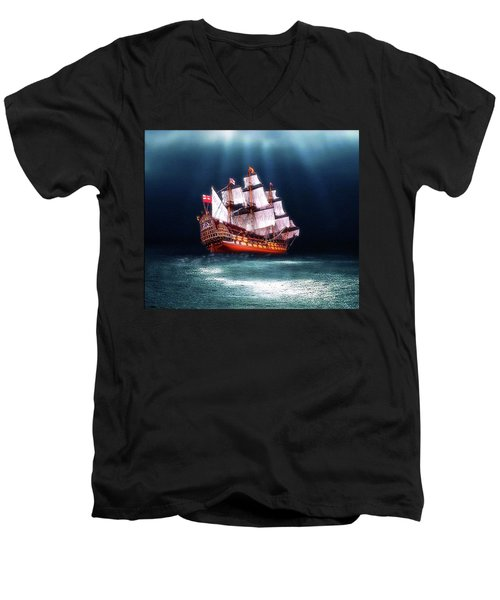 Seaworthy Men's V-Neck T-Shirt