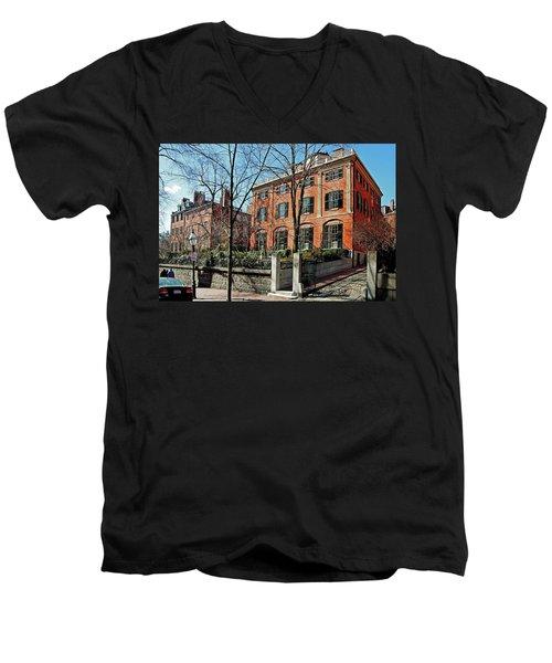 Second Harrison Gray Otis House  Men's V-Neck T-Shirt