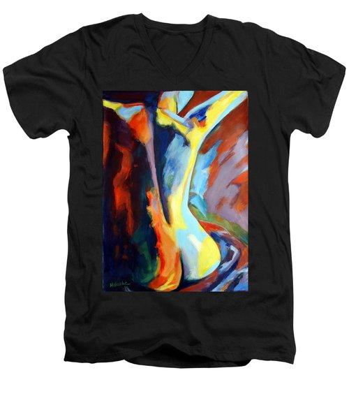 Secret Sources And Powers Men's V-Neck T-Shirt