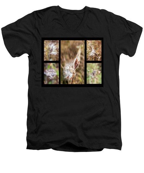Seed Collage Men's V-Neck T-Shirt