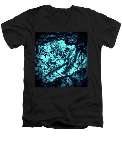 Seeing Through Trees Men's V-Neck T-Shirt by Gina O'Brien