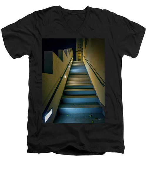 Seeking Men's V-Neck T-Shirt