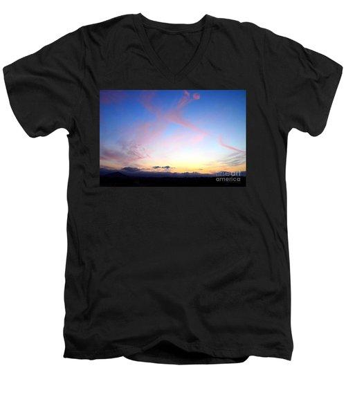 Send Out Your Light Men's V-Neck T-Shirt