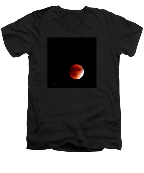 September Bloodmoon 2015 Men's V-Neck T-Shirt