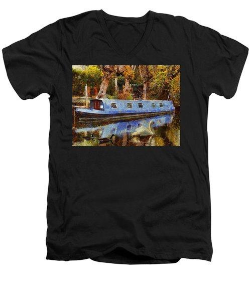 Serene Scene Men's V-Neck T-Shirt