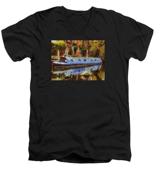 Serene Scene Men's V-Neck T-Shirt