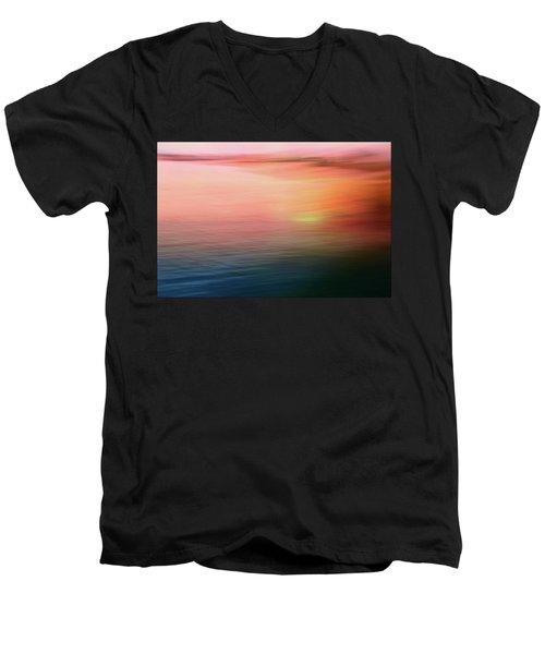 Serenity Men's V-Neck T-Shirt by Allen Beilschmidt