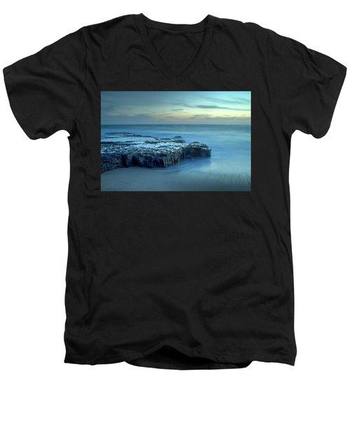 Serenity At The Beach Men's V-Neck T-Shirt