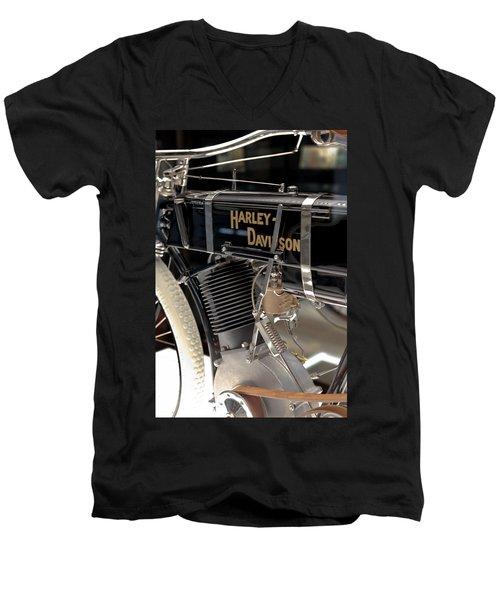 Serial Number One Men's V-Neck T-Shirt