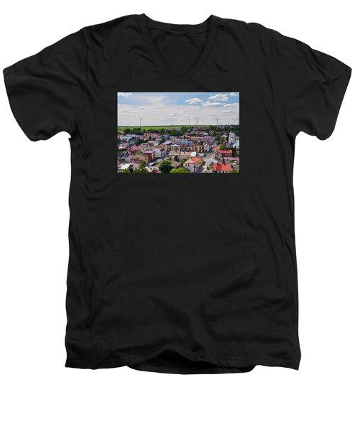 Settlers Men's V-Neck T-Shirt