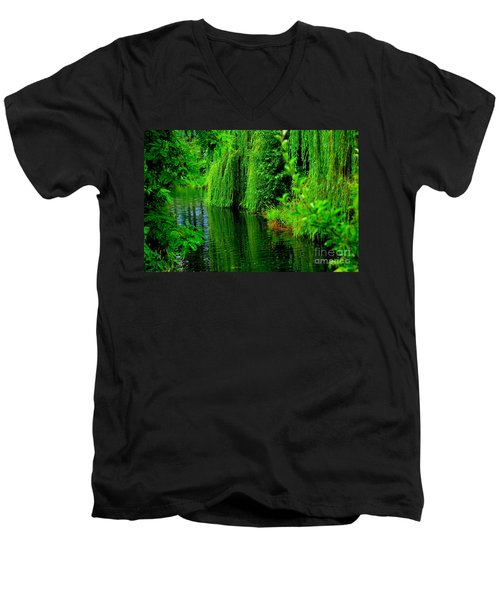 Shade Tree Men's V-Neck T-Shirt