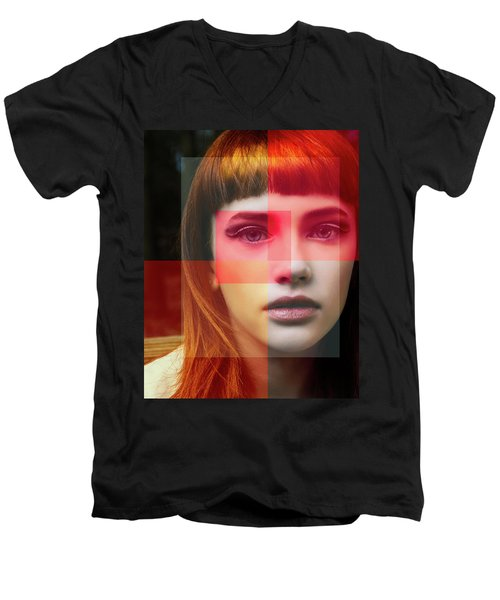 Shades Of My Soul Men's V-Neck T-Shirt