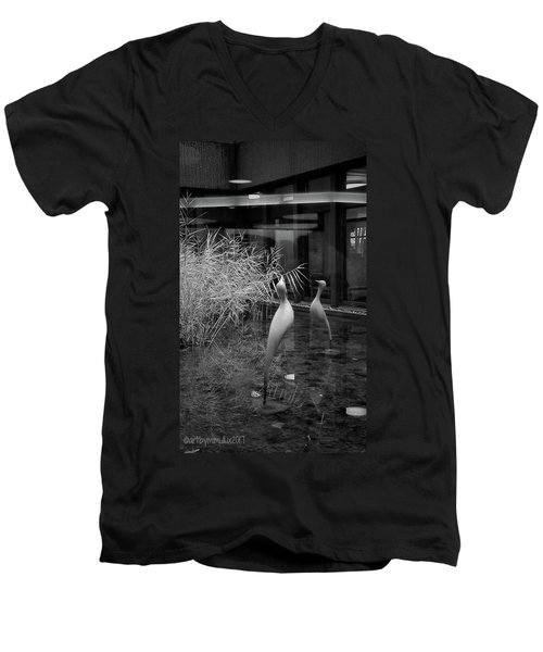 Shadow And Light 13 - Reflections - A Men's V-Neck T-Shirt