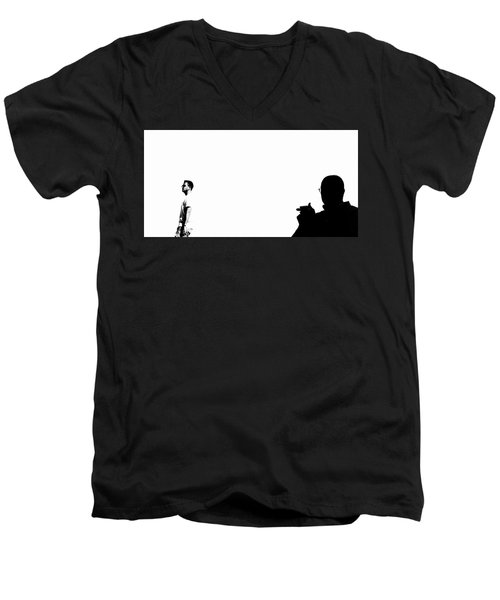 Shadow Man Men's V-Neck T-Shirt