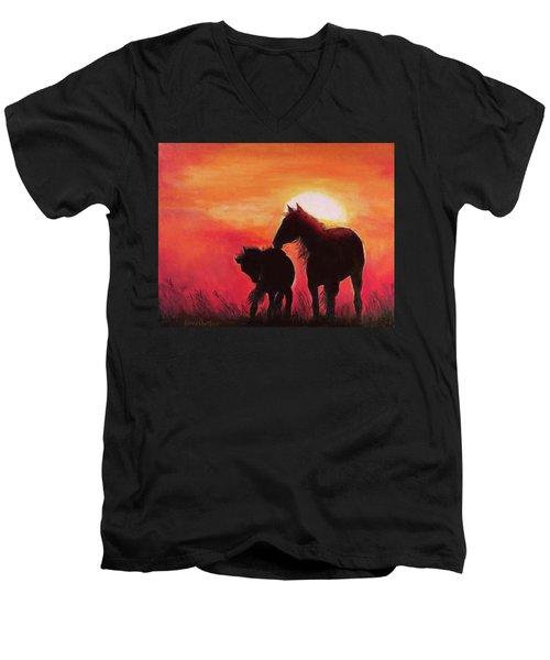Shadows Of The Sun Men's V-Neck T-Shirt