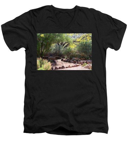 Shady Nook Men's V-Neck T-Shirt