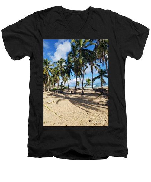 Shady Palm Men's V-Neck T-Shirt