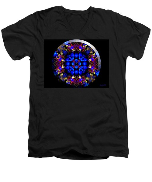 Shanna Men's V-Neck T-Shirt by Robert Orinski