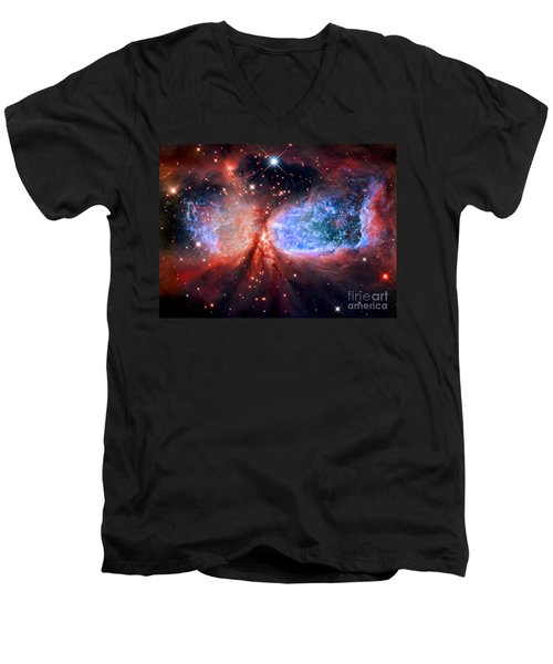 Sharpless 2-106 Men's V-Neck T-Shirt