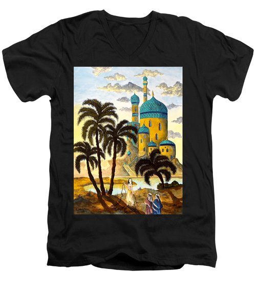 Shehriyar And Shahzeman Men's V-Neck T-Shirt
