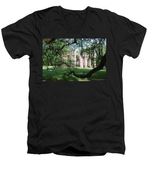 Sheldon Church 2 Men's V-Neck T-Shirt by Gordon Mooneyhan