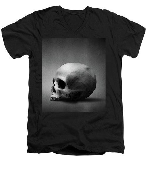 Men's V-Neck T-Shirt featuring the digital art Shell Game II by Joseph Westrupp