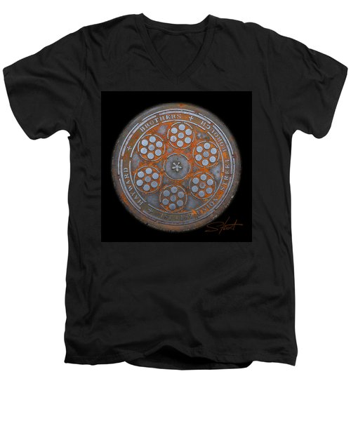 Shield 2 Men's V-Neck T-Shirt
