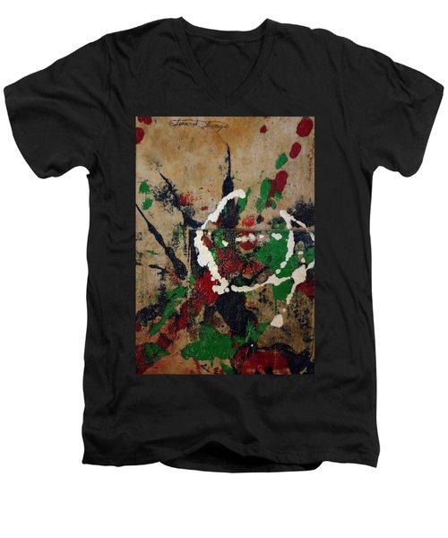 Shirt Pocket Men's V-Neck T-Shirt